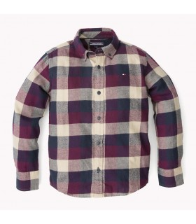 HIGH CHECK SHIRT L/S