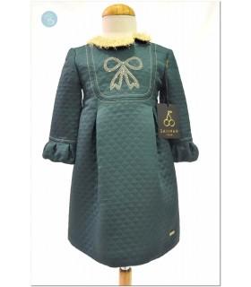 Vestido Verde Lazo