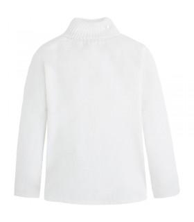 Cisne basico de tricotosa celeste y blanco
